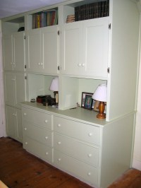 Built-in Double Dresser/Cabinets/Shelves | Dan Wetmore ...