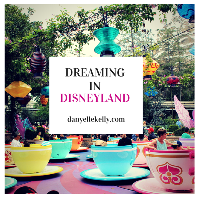 dreaming in disneyland