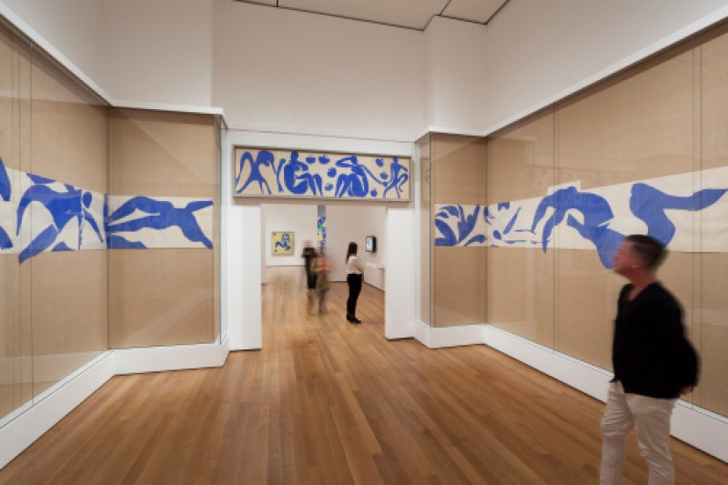 Matisse-Swimming-Pool-1952-Installation-View-2-MoMA-2014