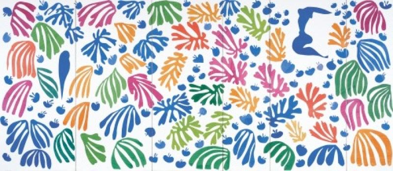 Matisse-The-Parakeet-and-the Mermaid-1952
