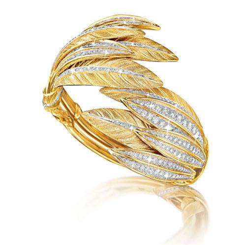 Verdura-Tiara-Feather-Bracelet-2014