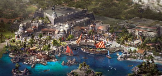 Shanghai Disney Resort - Treasure Cove Rendering