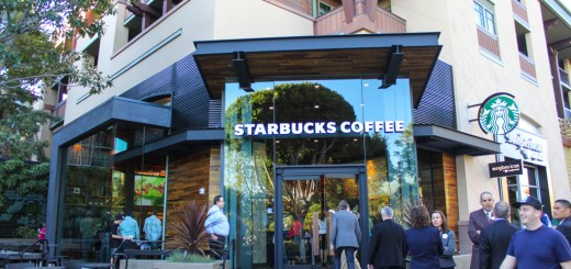 Starbucks in Downtown Disney at the Disneyland Resort