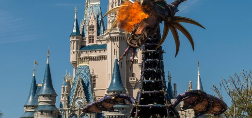 "Disney Festival of Fantasy Parade: Maleficent from ""Sleeping Beauty"""