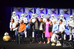 Star Wars The Force Awakens Panel Star Wars Celebration Anaheim-87