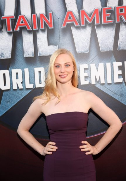 """HOLLYWOOD, CALIFORNIA - APRIL 12: Actress Deborah Ann Woll attends The World Premiere of Marvel's """"Captain America: Civil War"""" at Dolby Theatre on April 12, 2016 in Los Angeles, California. (Photo by Jesse Grant/Getty Images for Disney) *** Local Caption *** Deborah Ann Woll"""