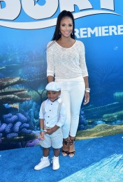 HOLLYWOOD, CA - JUNE 08: Singer Tamar Braxton and guest attend The World Premiere of Disney-Pixar's FINDING DORY on Wednesday, June 8, 2016 in Hollywood, California. (Photo by Alberto E. Rodriguez/Getty Images for Disney) *** Local Caption *** Tamar Braxton