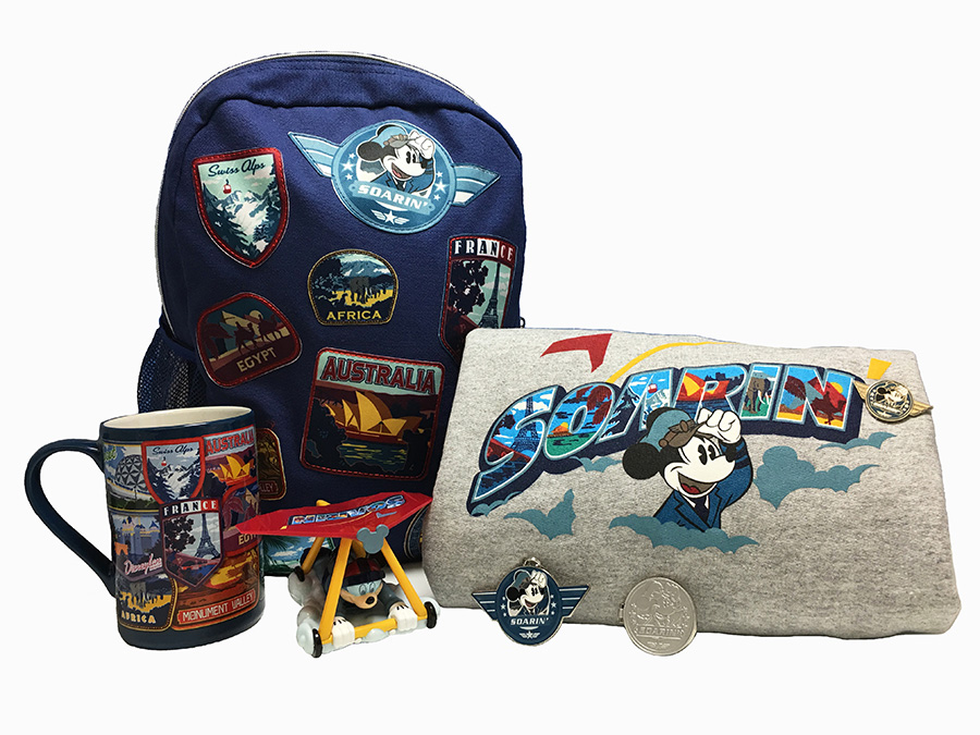 New Soarin' Merchandise Available At Disney Parks