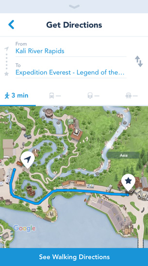 New Feature On My Disney Experience App