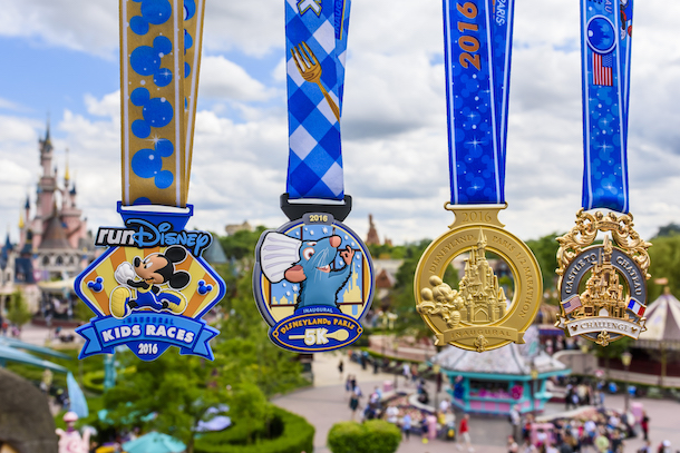 Medals For Inaugural Disneyland Paris Half Marathon Revealed