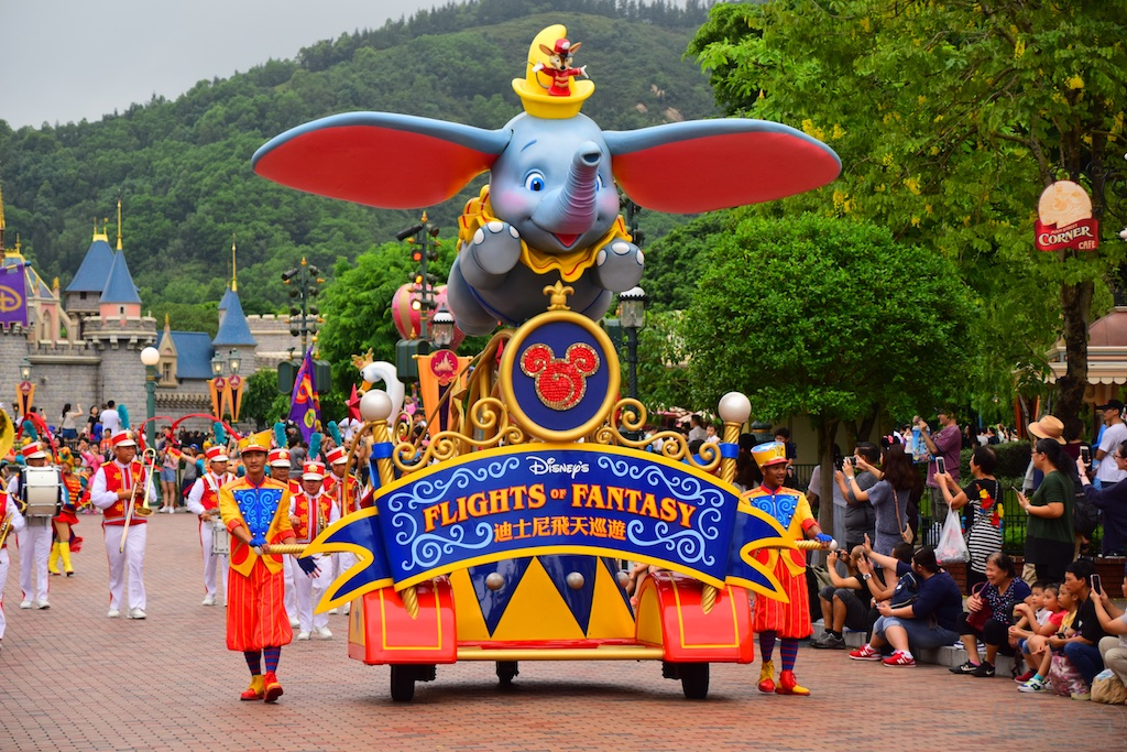 Parades of the Park - Hong Kong Disneyland In Detail
