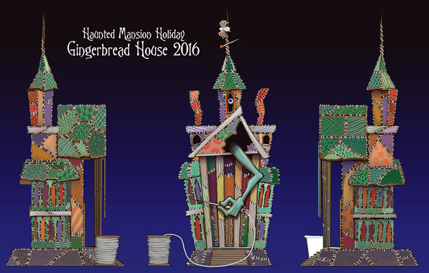 Haunted Mansion Holiday Gingerbread House For 2016 Revealed
