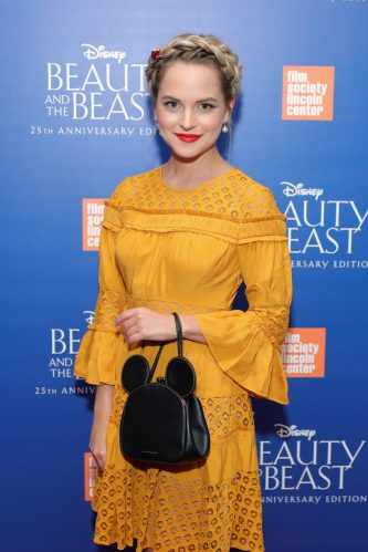 "NEW YORK, NY - SEPTEMBER 18: Stephanie Styles attends the special screening of Disney's ""Beauty and the Beast"" to celebrate the 25th Anniversary Edition release on Blu-Ray and DVD on September 18, 2016 in New York City. (Photo by Neilson Barnard/Getty Images for Walt Disney Studios Home Entertainment) *** Local Caption *** Stephanie Styles"