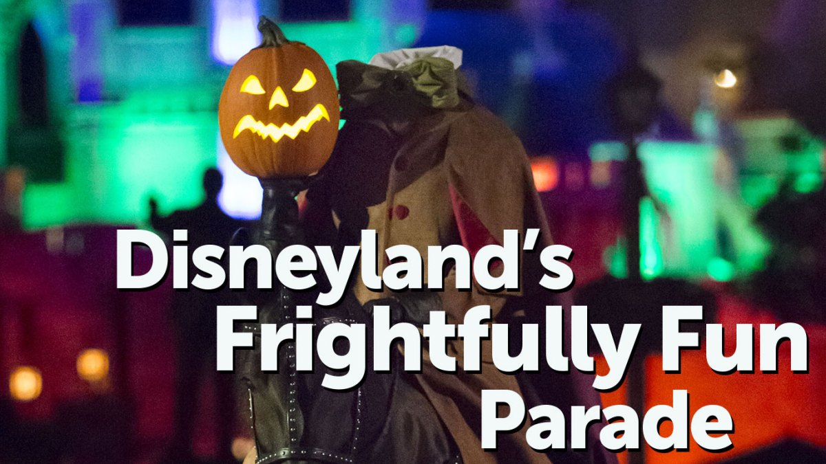 Disneyland's Frightfully Fun Parade A New Highlight for Mickey's Halloween Party