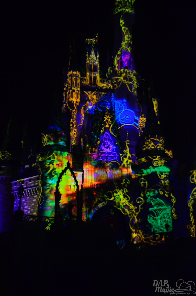 'Once Upon A Time' - A New Projection Show At Magic Kingdom To Debut