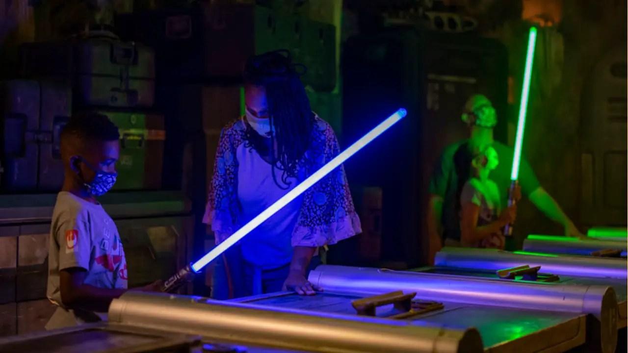 Price Goes Up For Savi's Workshop Lightsaber Experience at Walt Disney World Resort