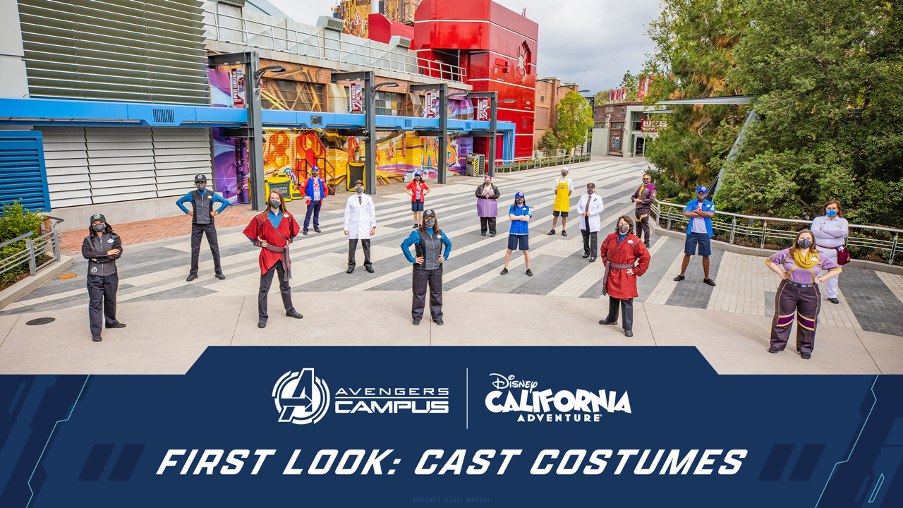Campus Representative Costumes Revealed for Avengers Campus