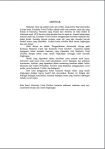 Contoh Judul Karangan Ilmiah Karya Tulis Ilmiah Contoh Karya Tulis Ilmiah Bahasa Bagian Awal Karangan Ilmiah Aku Cinta Bahasa Indonesia