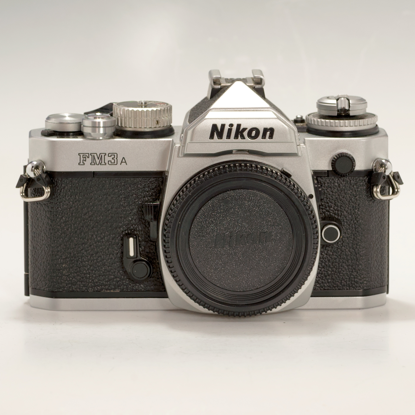 Film Camera Nikon Fm3a 35mm Slr Film Camera Body Only Chrome