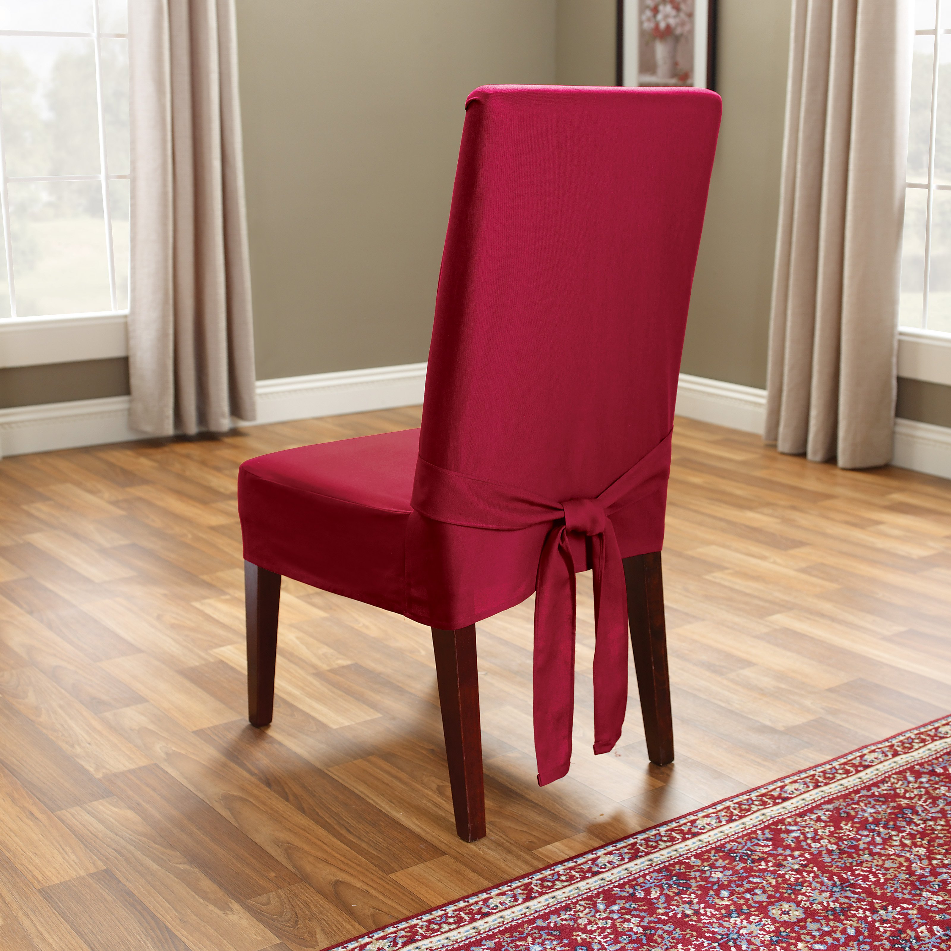 Chair Cover Simplicity Of Dining Room Chair Covers To Decor