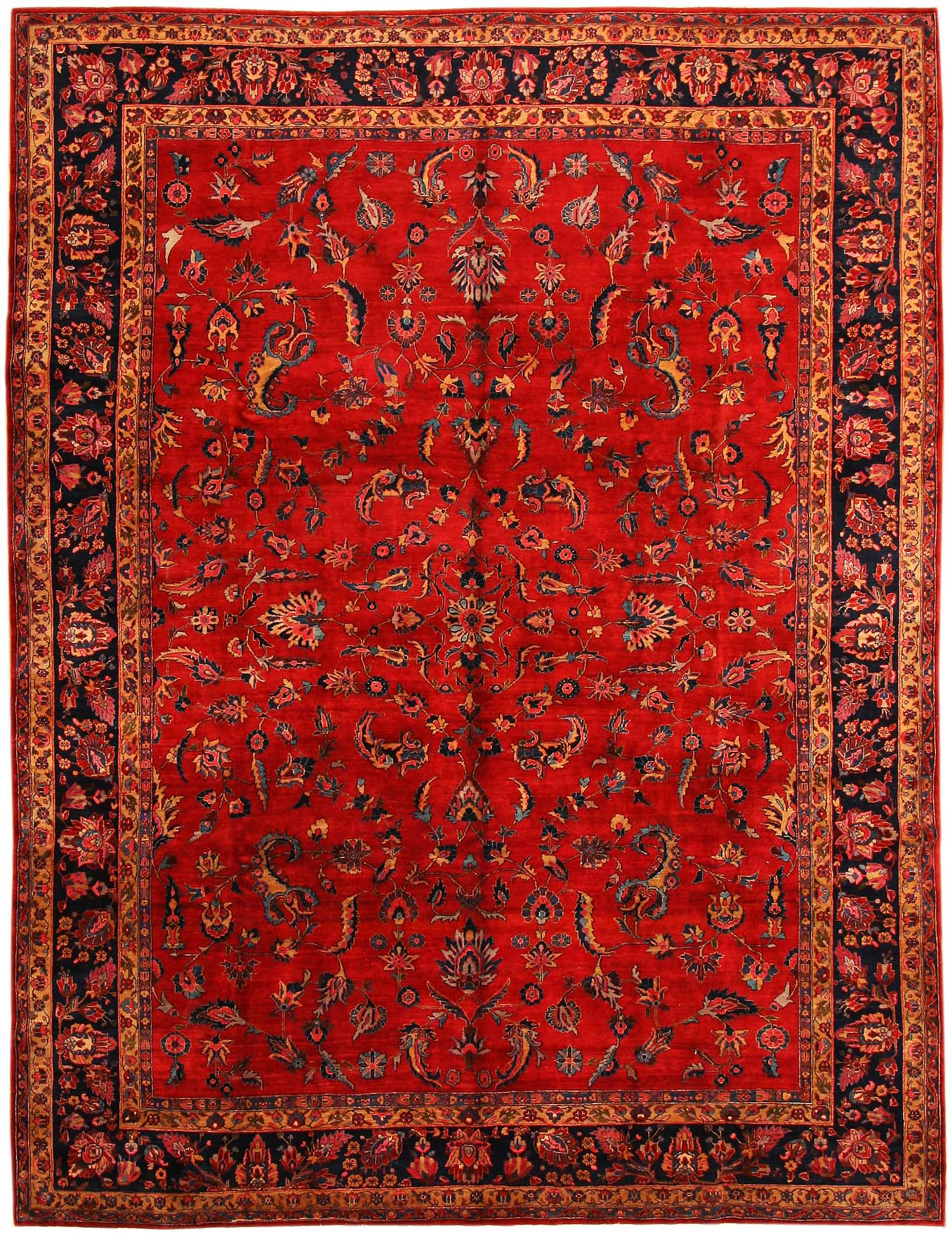 Red Oriental Rug Persian Rug Most Beautifull Art Of Craft