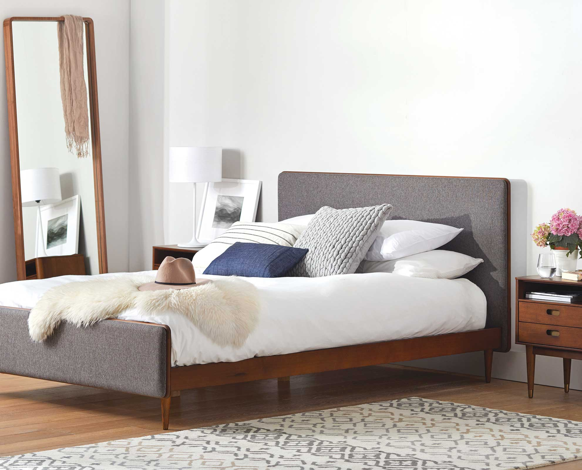 Scandinavian Furniture Bed Scandinavian Bed