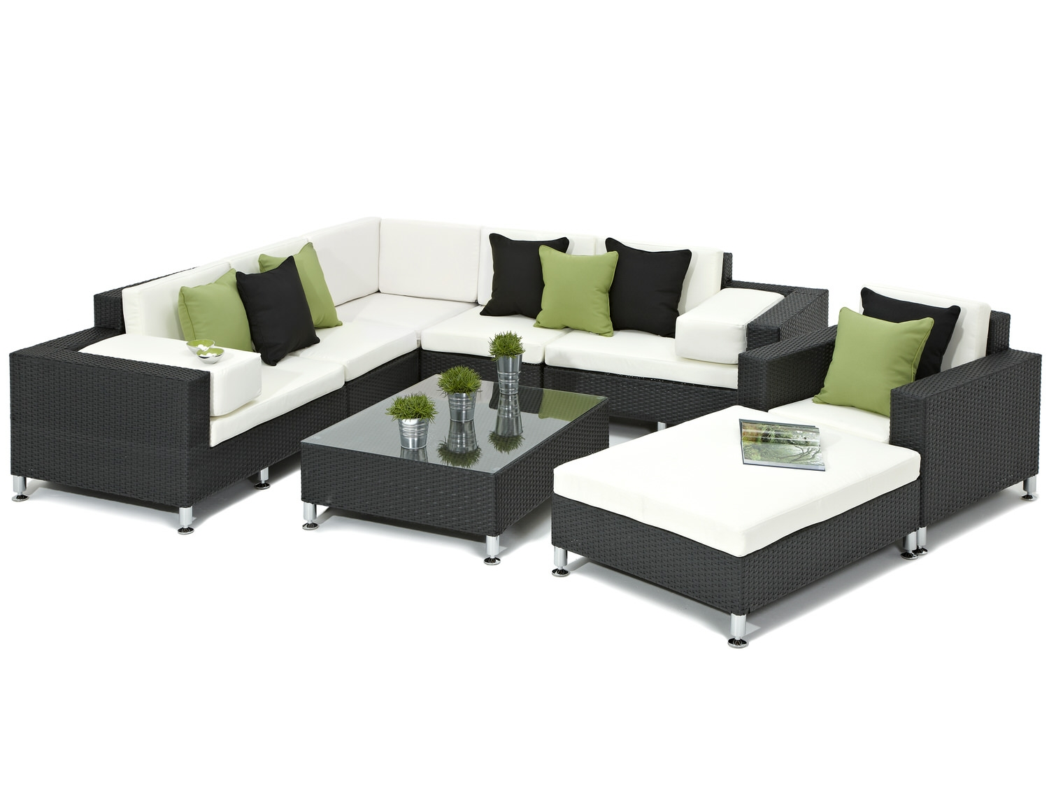 Black Rattan Sofa Uk Black Rattan Corner Sofa Set 5 Piece Black Rattan Corner