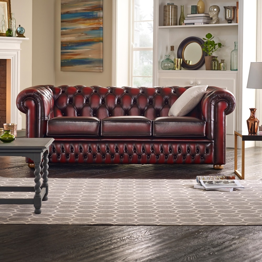 Chesterfield Lounge Sofa Chesterfield Returns To Trends With New Panache