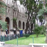 Montevideo: customs building at Buquebus