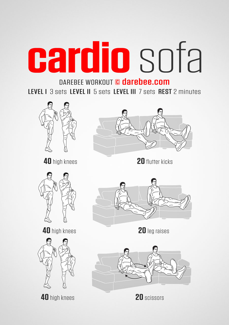 Sofa Workout Sofa Workouts