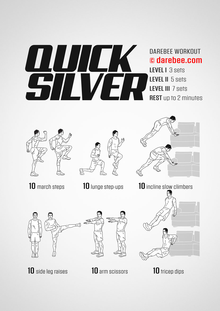 Sofa Workout Quicksilver Workout