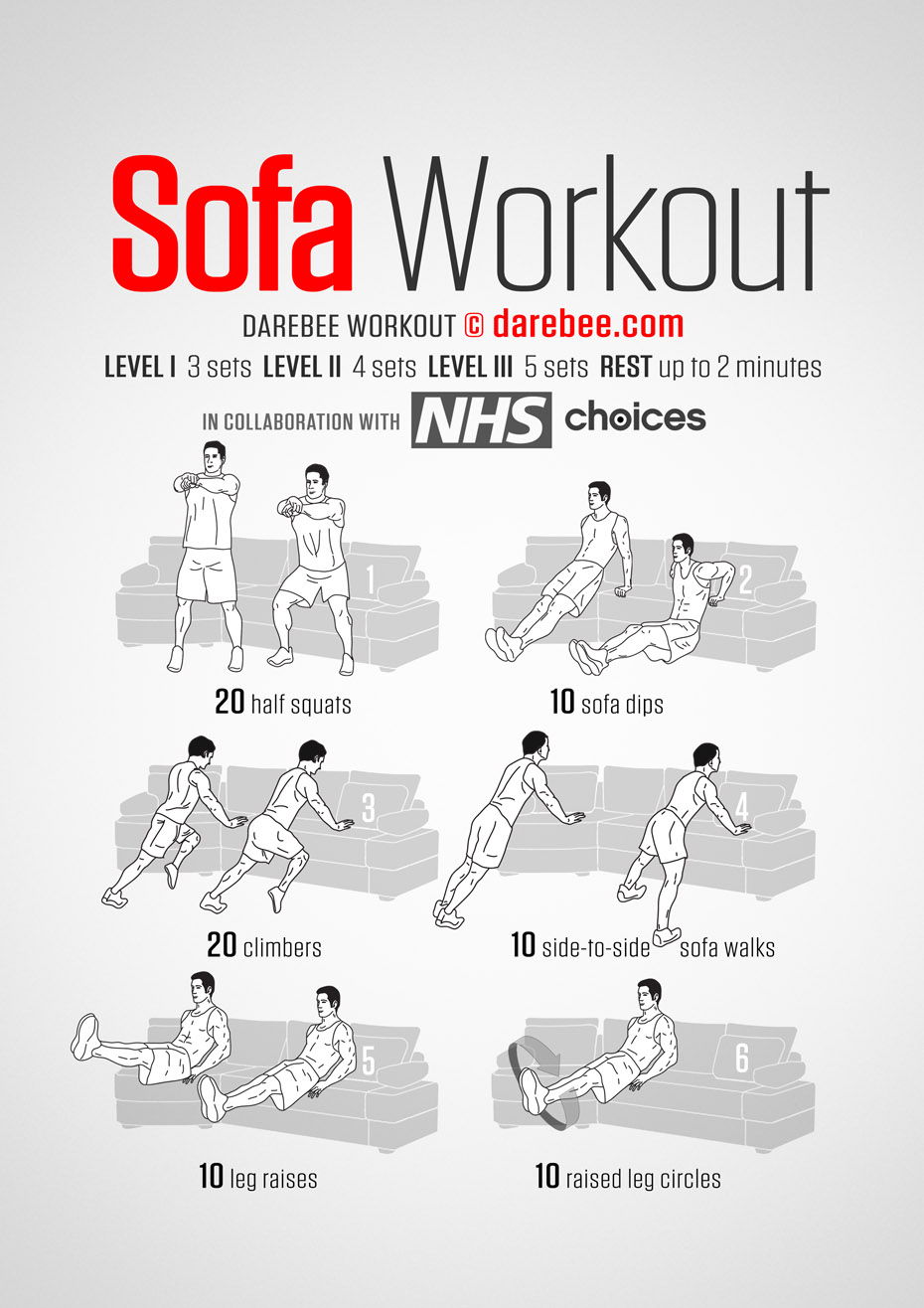 Sofa Workout Sofa Workout