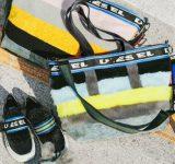 ディーゼルのボア&エコファー素材のバッグが大人気!靴も登場