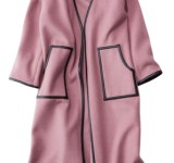 【明日なに着る?】大人見え♡くすみピンクのメルトンコート