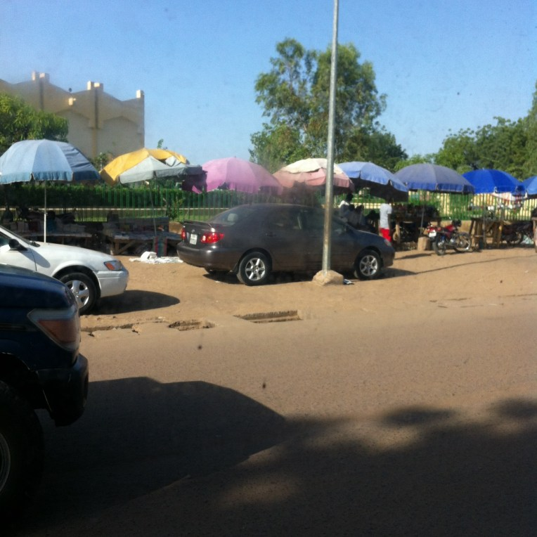 Ndjamena market place. Photo: Sara-Christine Dallain/i-ACT