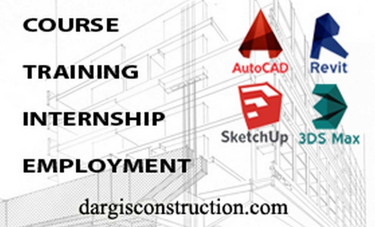 Job Project Engineer Autocad Revit Sketchup Courses Training Work Employment