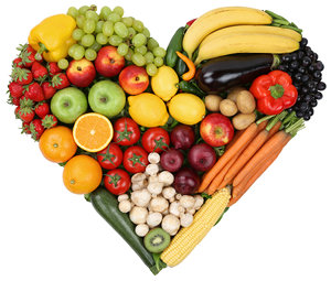 http://www.dreamstime.com/stock-image-fruits-vegetables-forming-heart-love-topic-healthy-eatin-eating-isolated-image43233391