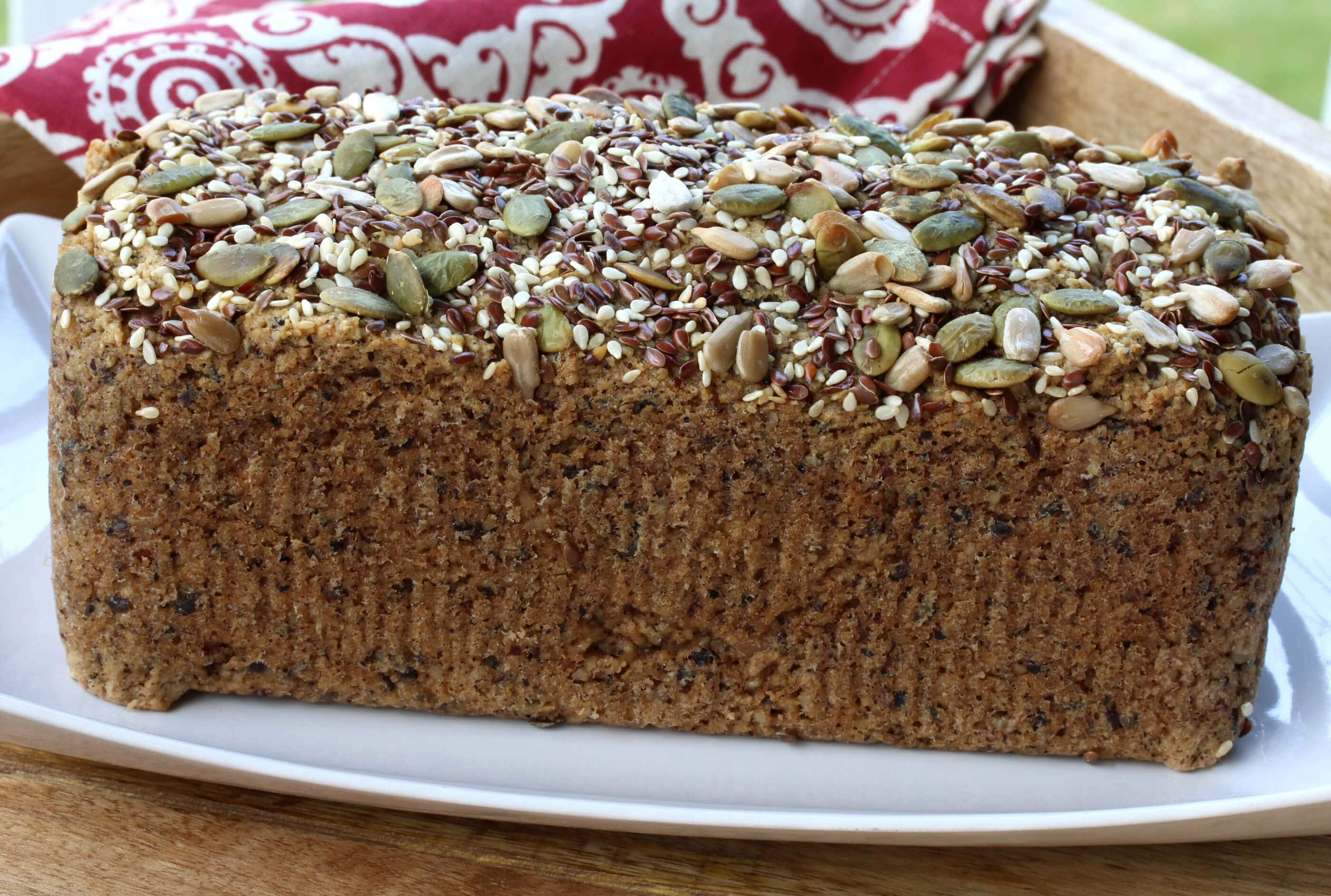 Protein Kuchen Low Carb Low Carb High Protein Nut And Seed Bread Paleo