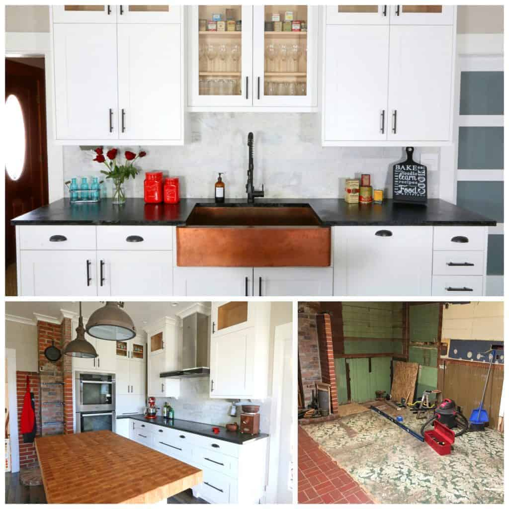 1900 Farmhouse Remodel The 1912 Modern Farmhouse Kitchen Remodel The Reveal The Daring