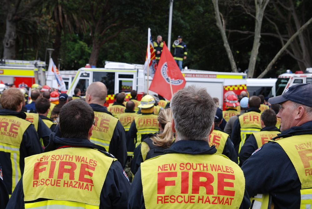 Sept 8 Public Sector Rally for firefighters - join us. (1/2)