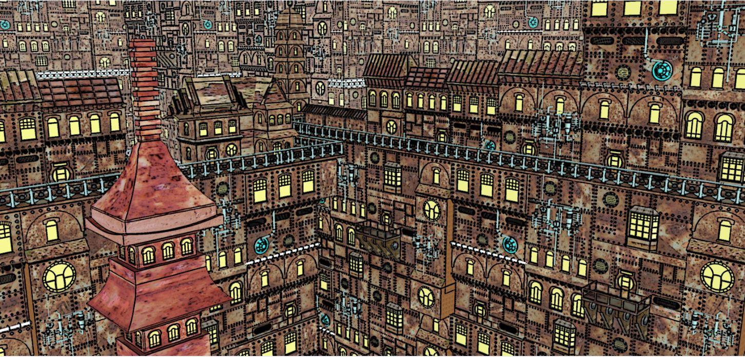 Retro Girl Wallpaper Cityscape Mrlovekraft