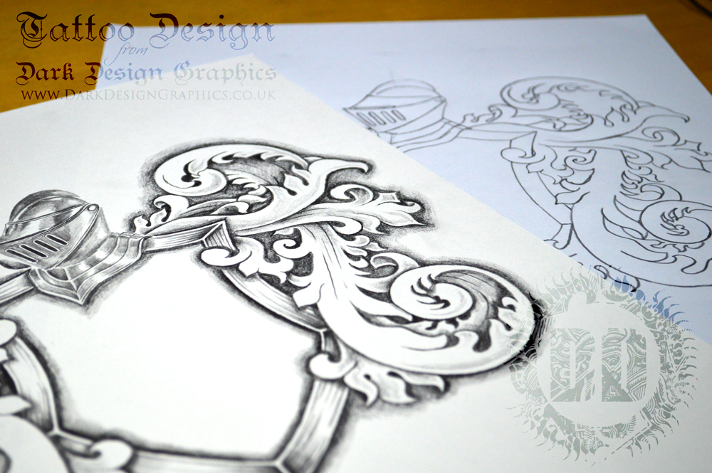Coat of Arms Template Tattoo Download - tattoo template