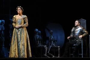 Gelena Gaskarova as Francesca & Alexander as Lanceotto Malatesta