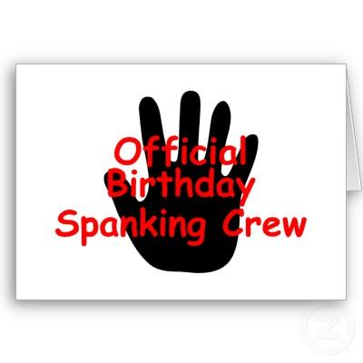 youtube birthday spank