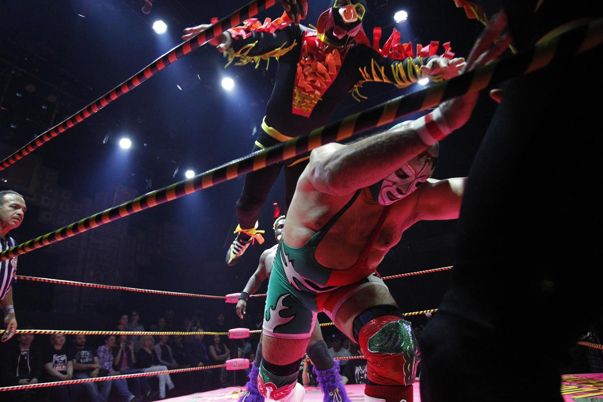 Lucha Libre Lucha Libre Wrestling At The Lucha Vavoom Show In La