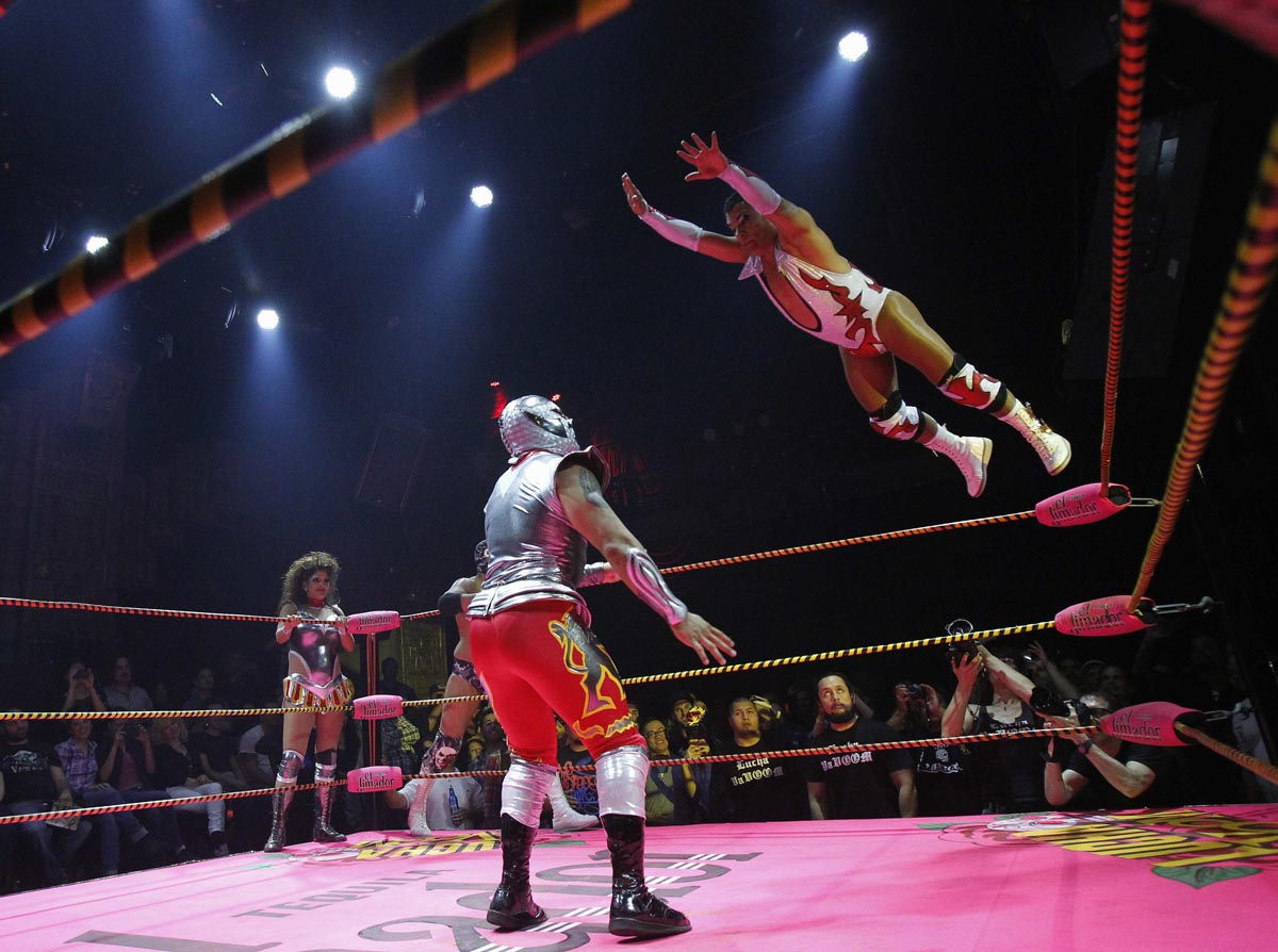 Lucha Libre Lucha Vavoom Show