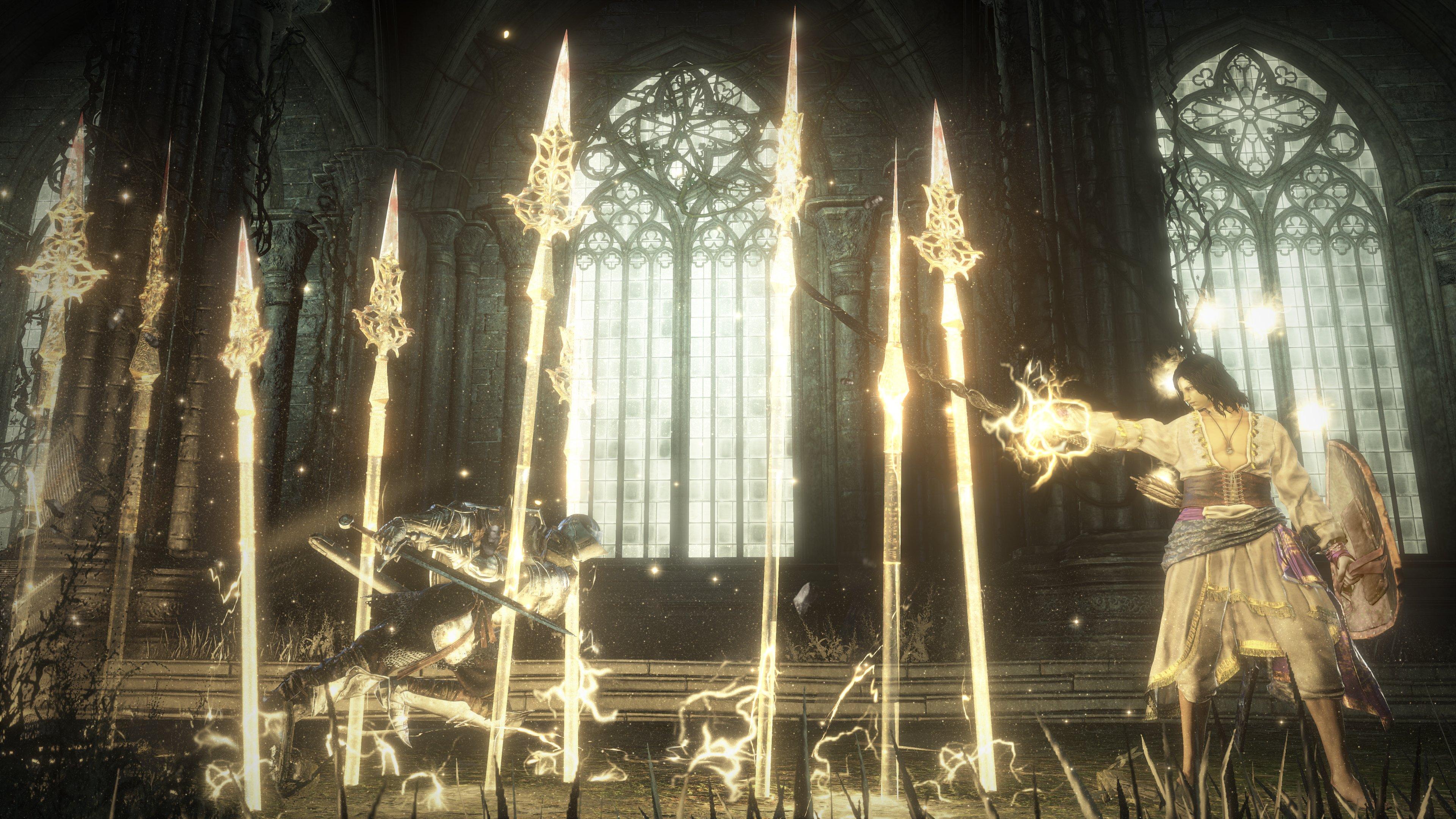 King Falls Am Wallpaper Halflight Spear Of The Church Dark Souls 3 Wiki