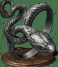 Covetous Silver Serpent Ring (5e Equipment) - D&D Wiki