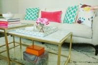 DIY Marble Gold Coffee Table - Darling Darleen | A ...