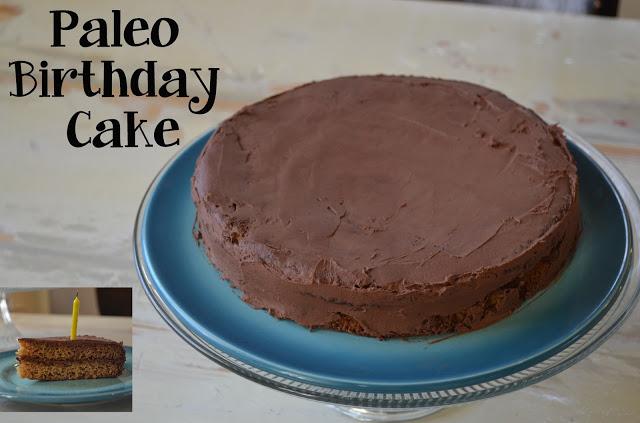 Paleo Darling Husbands' Cake